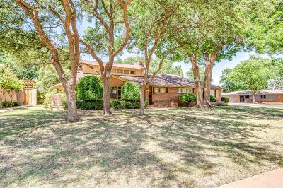 Lubbock Single Family Home For Sale: 3302 23rd Street