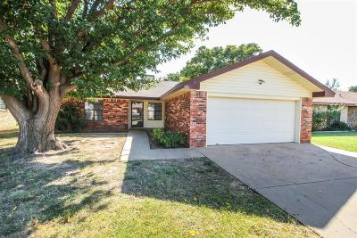 Lubbock Single Family Home For Sale: 5903 13th Street