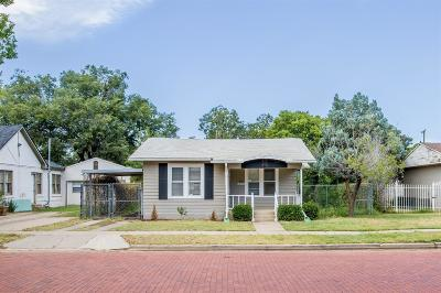 Lubbock Single Family Home For Sale: 2206 16th Street