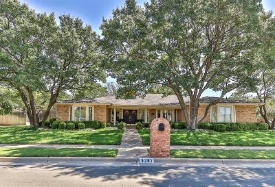 Lubbock Single Family Home For Sale: 9207 Lynnhaven Avenue