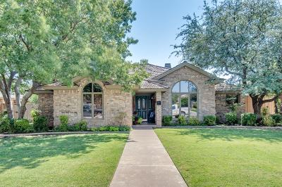 Lubbock Single Family Home Under Contract: 5101 Amherst Street