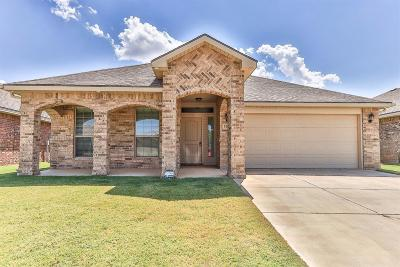Lubbock Single Family Home For Sale: 5709 110th Street
