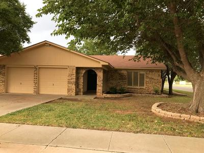 Lubbock Single Family Home Under Contract: 4702 59th Street
