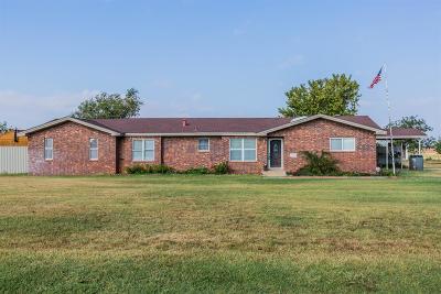 Lubbock Single Family Home For Sale: 9801 North Elgin Avenue