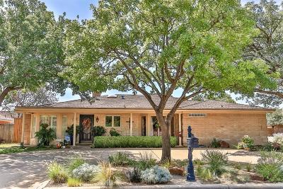 Lubbock Single Family Home Under Contract: 3213 78th Street
