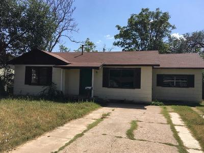 Single Family Home Under Contract: 4813 40th Street