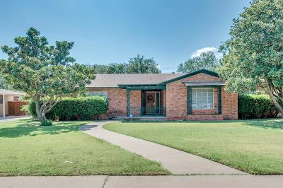 Lubbock Single Family Home For Sale: 3607 27th Street