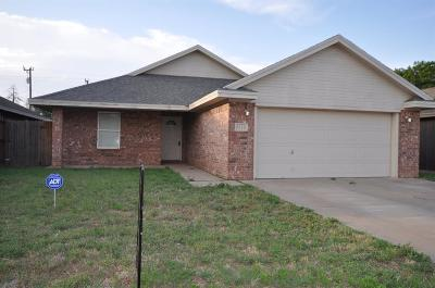 Lubbock Single Family Home For Sale: 6116 22nd Street