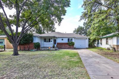 Lubbock Single Family Home Under Contract: 3713 26th Street