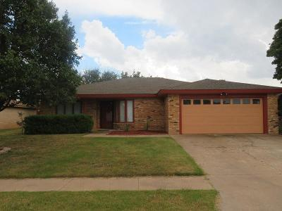 Lubbock Single Family Home For Sale: 5421 94th Street