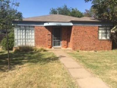 Single Family Home For Sale: 2108 29th Street