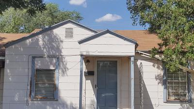Lubbock Single Family Home For Sale: 2704 2nd Place