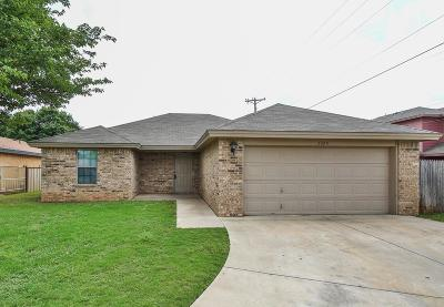 Lubbock Single Family Home For Sale: 2325 77th Street