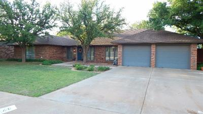 Slaton Single Family Home For Sale: 1416 Peoria