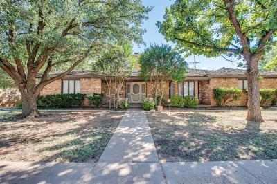 Lubbock Single Family Home For Sale: 5729 71st Street