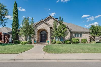 Lubbock Single Family Home Under Contract: 4802 103rd Street