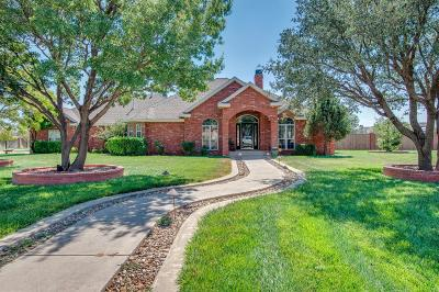 Lubbock Single Family Home For Sale: 8601 County Road 6935