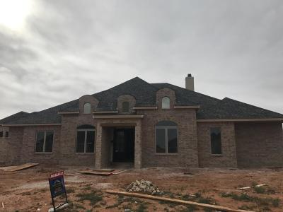 Lubbock Single Family Home For Sale: 3807 139th Street