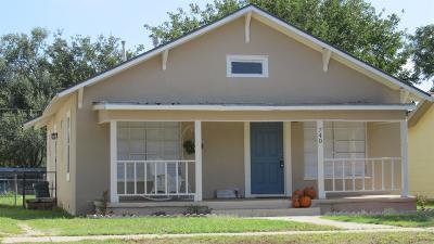 Slaton  Single Family Home For Sale: 740 South 12th Street