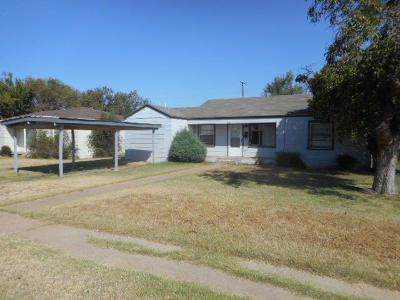 Lubbock County Single Family Home For Sale: 1510 36th Street