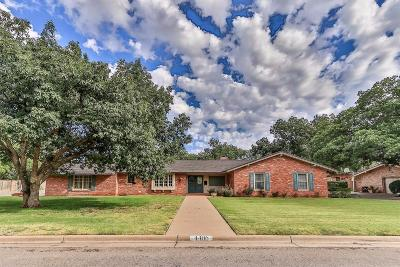 Lubbock Single Family Home For Sale: 4406 13th Street