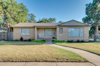 Lubbock Single Family Home For Sale: 2517 30th Street