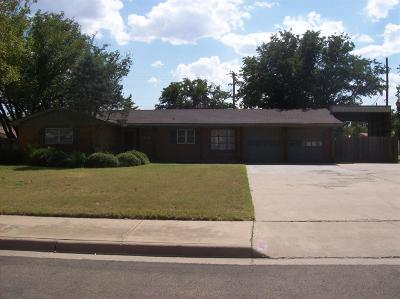 Lubbock TX Single Family Home For Sale: $123,900