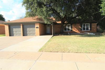 Lubbock Single Family Home For Sale: 5506 69th Street