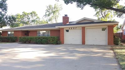 Lubbock Single Family Home For Sale: 4807 29th Street