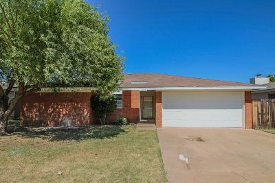 Lubbock Single Family Home For Sale: 2324 77th Street