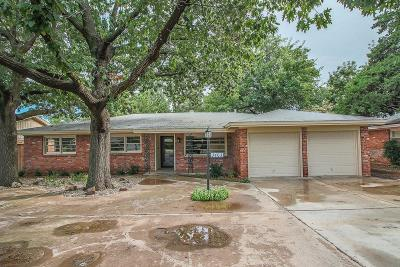Single Family Home For Sale: 3403 60th Street