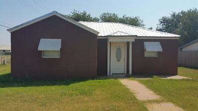 Bailey County, Lamb County Single Family Home For Sale: 1300 South Monticello Avenue
