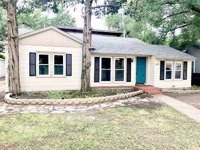 Lubbock Single Family Home Under Contract: 2815 26th Street