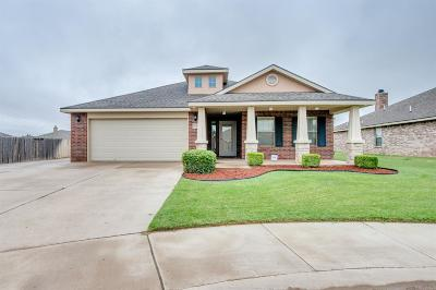 Lubbock TX Single Family Home Under Contract: $181,000