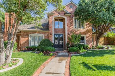 Lubbock Single Family Home Under Contract: 5006 95th Street