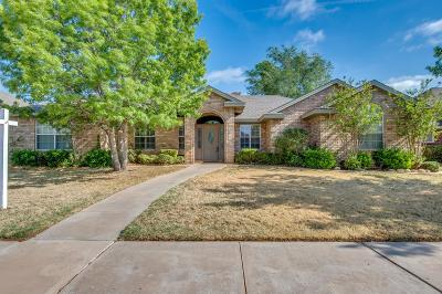 Lubbock Single Family Home For Sale: 5808 87th Street