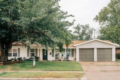 Lubbock Single Family Home Under Contract: 2213 59th Street