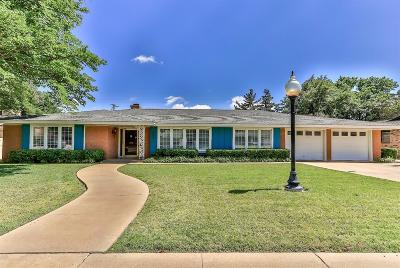 Lubbock Single Family Home Contingent: 3303 58th Street