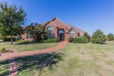 Lubbock Single Family Home For Sale: 8110 County Road 7000