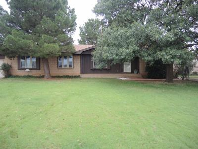 Levelland Single Family Home Under Contract: 1850 Guywire Road