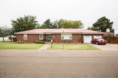 Plainview TX Single Family Home For Sale: $172,000