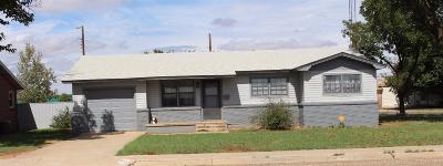 Lamesa Single Family Home Under Contract: 102 N 20th