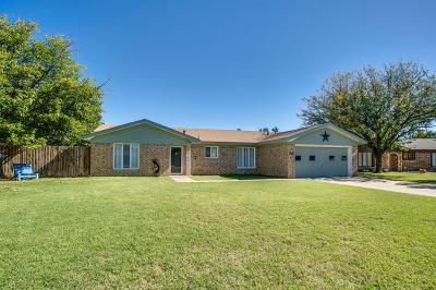 Lubbock Single Family Home For Sale: 8505 Hartford Avenue