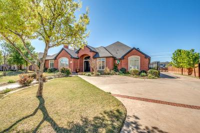 Lubbock Single Family Home For Sale: 4705 113th Street