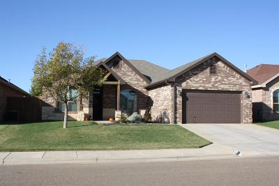 Lubbock Single Family Home For Sale: 6412 94th Street