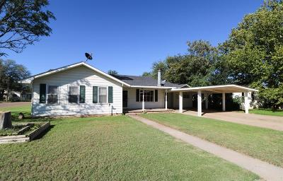 Littlefield Single Family Home Under Contract: 201 East 15th Street