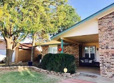 Lubbock Single Family Home Under Contract: 5705 2nd Place Drive