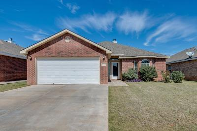 Lubbock TX Single Family Home For Sale: $154,900