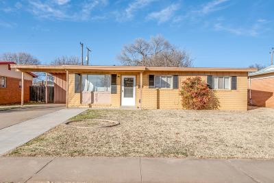 Single Family Home For Sale: 4316 61st Street