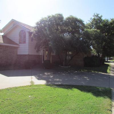 Lubbock Single Family Home For Sale: 5725 94th Street
